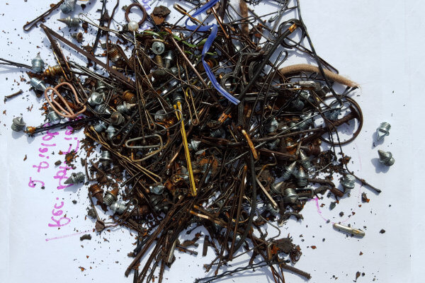 Ferrous Metals Removed from Field